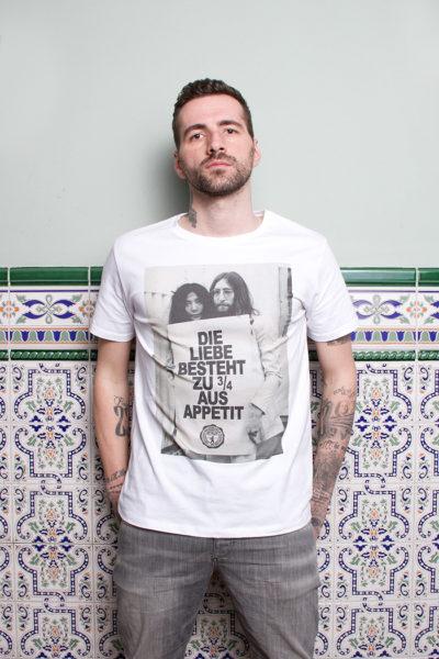 """T-Shirt """"Die Liebe besteht zu 3/4 …"""""""