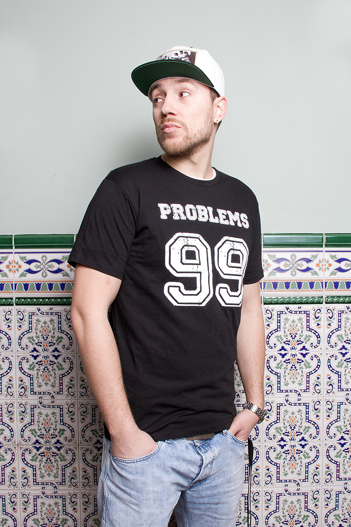 "T-Shirt ""99 Problems"" aus Jersey"