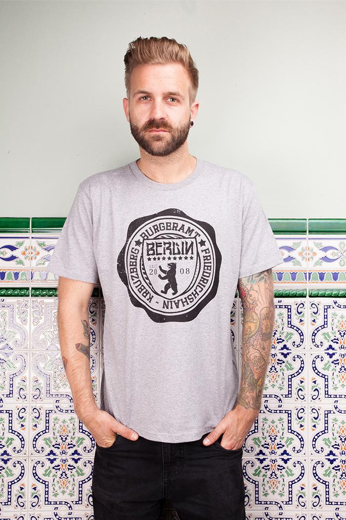 """T-Shirt """"Bezirksstempel"""""""