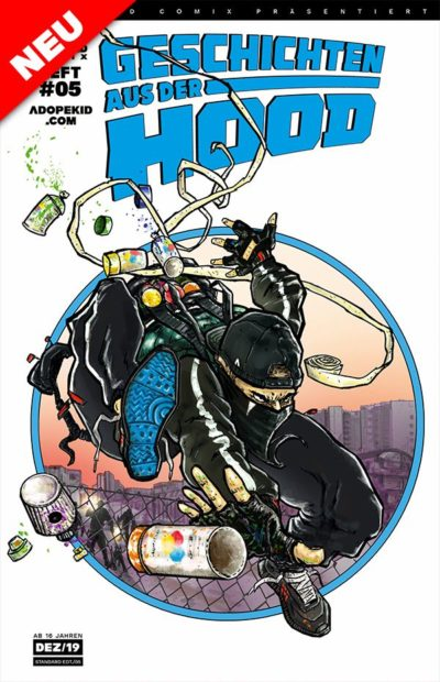 GESCHICHTEN AUS DER HOOD HEFT #05 STANDARD EDT. (Deutsch) Comic